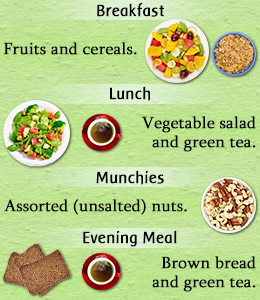 women diet chart: Eat raw vegetables and fruits as much as you can women health report