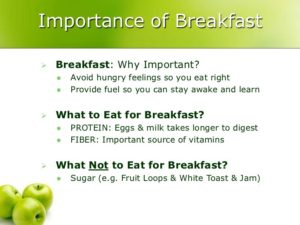 importance-of-breakfast